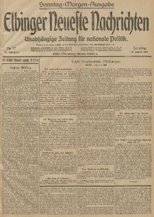 Elbinger Neueste Nachrichten, Nr. 17 Sonntag 18 Januar 1914 66. Jahrgang