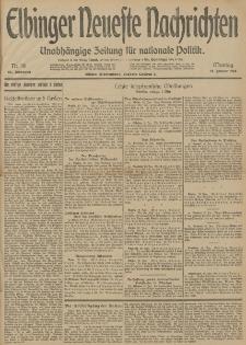 Elbinger Neueste Nachrichten, Nr. 18 Montag 19 Januar 1914 66. Jahrgang