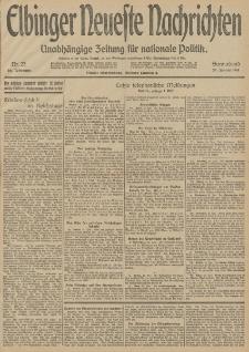 Elbinger Neueste Nachrichten, Nr. 23 Sonnabend 24 Januar 1914 66. Jahrgang