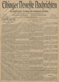 Elbinger Neueste Nachrichten, Nr. 25 Montag 26 Januar 1914 66. Jahrgang