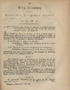 Gesetz-Sammlung für die Königlichen Preussischen Staaten, 30. Juni, 1867, nr.59.