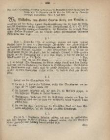 Gesetz-Sammlung für die Königlichen Preussischen Staaten, 19. Juli, 1867, nr.64.
