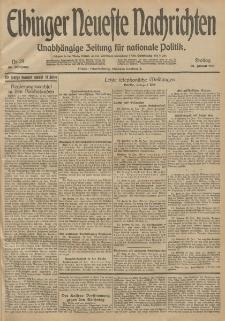 Elbinger Neueste Nachrichten, Nr. 29 Freitag 30 Januar 1914 66. Jahrgang