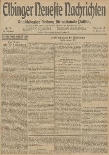 Elbinger Neueste Nachrichten, Nr. 30 Sonnabend 31 Januar 1914 66. Jahrgang