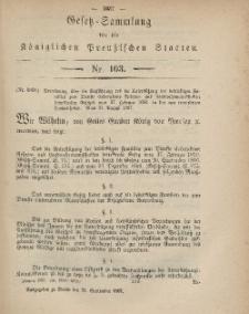 Gesetz-Sammlung für die Königlichen Preussischen Staaten, 29. September, 1867, nr.103.