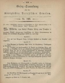 Gesetz-Sammlung für die Königlichen Preussischen Staaten, 17. Dezember, 1867, nr.123.