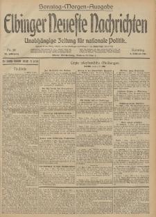 Elbinger Neueste Nachrichten, Nr. 38 Sonntag 8 Februar 1914 66. Jahrgang