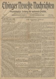 Elbinger Neueste Nachrichten, Nr. 39 Montag 9 Februar 1914 66. Jahrgang