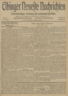 Elbinger Neueste Nachrichten, Nr. 41 Mittwoch 11 Februar 1914 66. Jahrgang