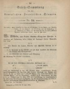 Gesetz-Sammlung für die Königlichen Preussischen Staaten, 22. Juni, 1865, nr. 24.