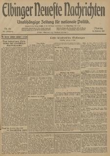 Elbinger Neueste Nachrichten, Nr. 46 Montag 16 Februar 1914 66. Jahrgang
