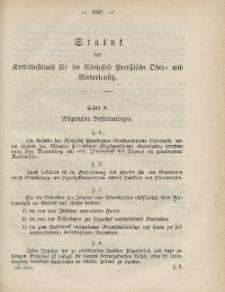 Gesetz-Sammlung für die Königlichen Preussischen Staaten (Statut des Kreditinstituts...)