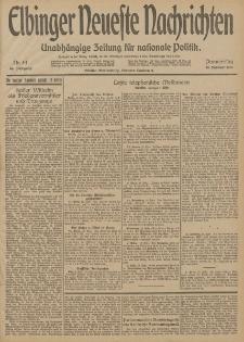 Elbinger Neueste Nachrichten, Nr. 49 Donnerstag 19 Februar 1914 66. Jahrgang