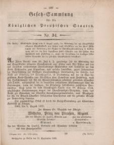 Gesetz-Sammlung für die Königlichen Preussischen Staaten, 23. September, 1859, nr. 34.
