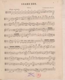 Grand Duo. Op. 25 : Viola
