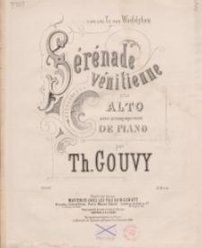 Sérénade vénitienne pour alto avec accompagnement de piano