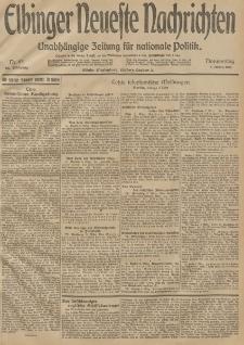 Elbinger Neueste Nachrichten, Nr. 63 Donnerstag 5 März 1914 66. Jahrgang