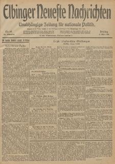 Elbinger Neueste Nachrichten, Nr. 64 Freitag 6 März 1914 66. Jahrgang