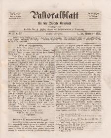Pastoralblatt für die Diözese Ermland, 6.Jahrgang, 1-16. November 1874, Nr 21 u.22