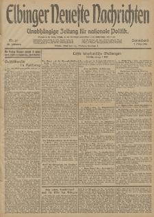 Elbinger Neueste Nachrichten, Nr. 65 Sonnabend 7 März 1914 66. Jahrgang