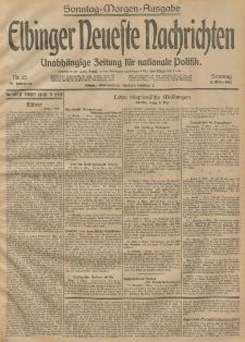 Elbinger Neueste Nachrichten, Nr. 66 Sonntag 8 März 1914 66. Jahrgang