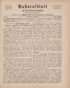 Pastoralblatt für die Diözese Ermland, 12.Jahrgang, 1. April 1880. Nr 4