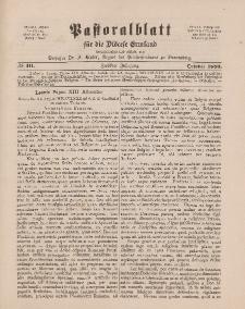 Pastoralblatt für die Diözese Ermland, 12.Jahrgang, 1. Oktober 1880. Nr 10