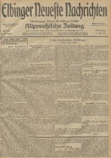 Elbinger Neueste Nachrichten, Nr. 75 Dienstag 17 März 1914 66. Jahrgang