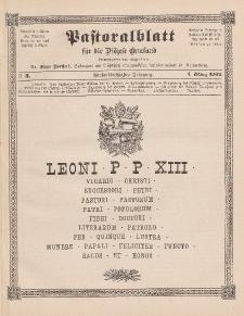 Pastoralblatt für die Diözese Ermland, 35.Jahrgang, 1. März 1903, Nr 3.