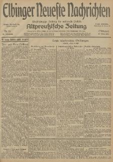 Elbinger Neueste Nachrichten, Nr. 76 Mittwoch 18 März 1914 66. Jahrgang