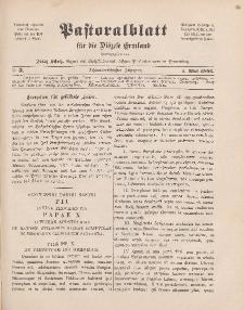 Pastoralblatt für die Diözese Ermland, 38.Jahrgang, 1. Mai 1906, Nr 5.