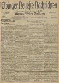 Elbinger Neueste Nachrichten, Nr. 81 Montag 23 März 1914 66. Jahrgang