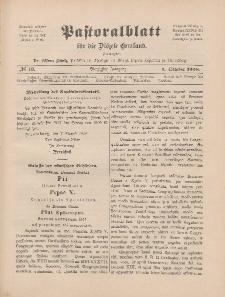Pastoralblatt für die Diözese Ermland, 40.Jahrgang, 1. Oktober 1908, Nr 10.