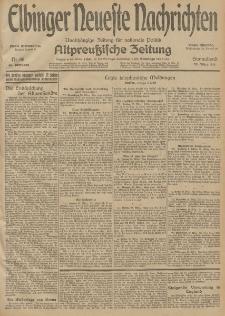 Elbinger Neueste Nachrichten, Nr. 86 Sonnabend 28 März 1914 66. Jahrgang