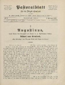 Pastoralblatt für die Diözese Ermland, 44.Jahrgang, 1. Februar 1912. Nr 2