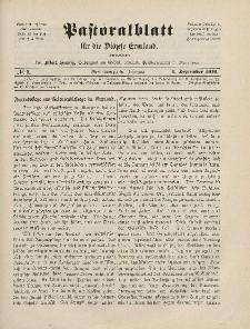 Pastoralblatt für die Diözese Ermland, 44.Jahrgang, 1. September 1912. Nr 9