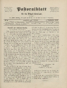 Pastoralblatt für die Diözese Ermland, 45.Jahrgang, 1. September 1913. Nr 9