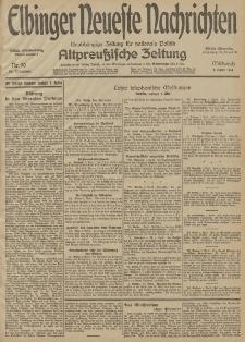 Elbinger Neueste Nachrichten, Nr. 90 Mittwoch 1 April 1914 66. Jahrgang