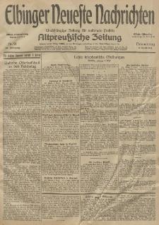 Elbinger Neueste Nachrichten, Nr. 91 Donnerstag 2 April 1914 66. Jahrgang