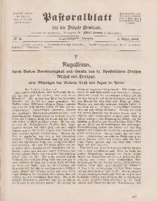Pastoralblatt für die Diözese Ermland, 51.Jahrgang, 1. März 1919. Nr 3