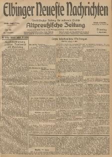 Elbinger Neueste Nachrichten, Nr. 96 Dienstag 7 April 1914 66. Jahrgang