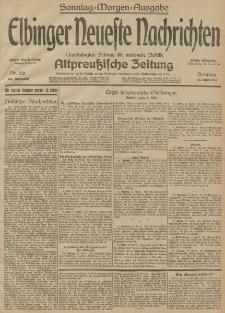 Elbinger Neueste Nachrichten, Nr. 100 Sonntag 12 April 1914 66. Jahrgang