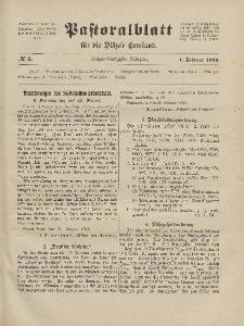 Pastoralblatt für die Diözese Ermland, 56.Jahrgang, 1. Februar 1924, Nr 2.