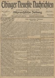 Elbinger Neueste Nachrichten, Nr. 103 Donnerstag 16 April 1914 66. Jahrgang