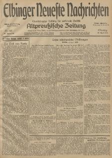 Elbinger Neueste Nachrichten, Nr. 107 Montag 20 April 1914 66. Jahrgang