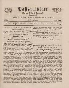 Pastoralblatt für die Diözese Ermland, 9.Jahrgang, 1. Juni 1877, Nr 6.