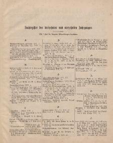 Pastoralblatt für die Diözese Ermland (Sachregister des 13 und 14 Jahrganges)
