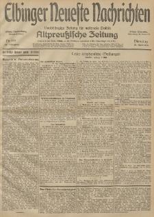 Elbinger Neueste Nachrichten, Nr. 115 Dienstag 28 April 1914 66. Jahrgang