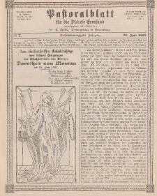 Pastoralblatt für die Diözese Ermland, 26.Jahrgang, 25. Juni 1894, Nr 7.