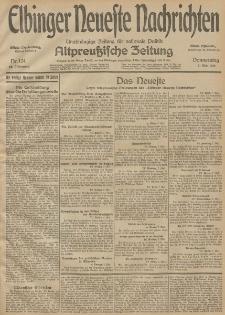 Elbinger Neueste Nachrichten, Nr. 124 Donnerstag 7 Mai 1914 66. Jahrgang